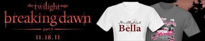 twilight breaking dawn t-shirts and gear image