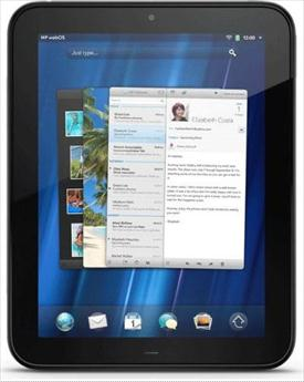 hp touchpad tablet computer image