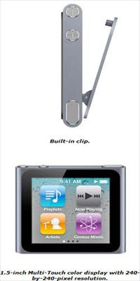 apple ipod nano 6th generation image